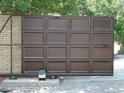 Ворота откатные (консольные),  ворота распашные,  заборы,  калитки.