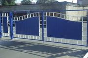 Изготовление и установка заборных секций,  ворот,  калиток,  козырьков