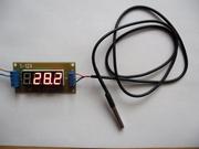 Цифровой термометр на основе датчика  DS18B20